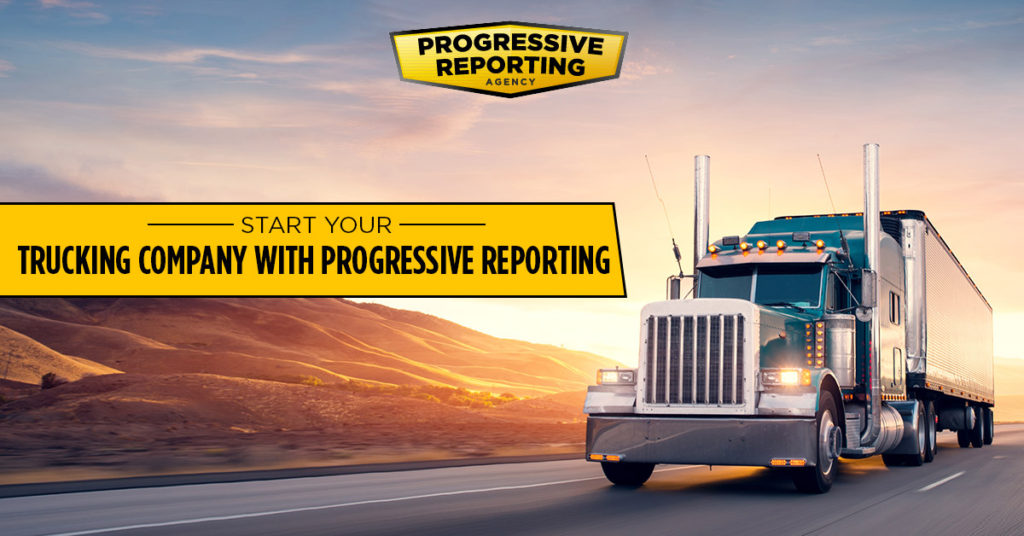 How to Start Your Trucking Company with Progressive