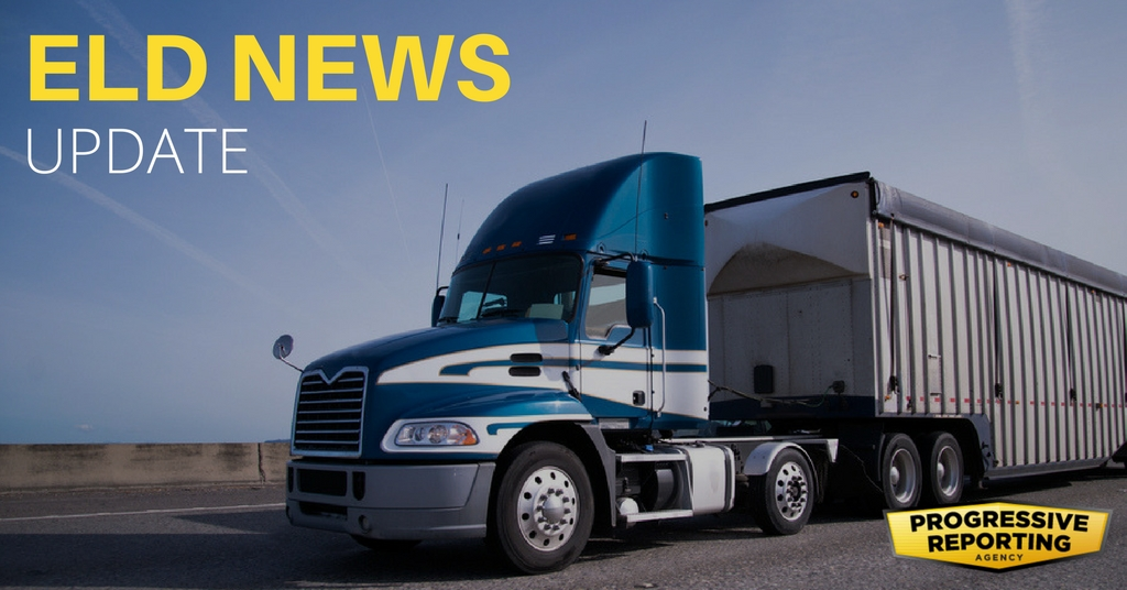 Eld news update progressive reporting for Federal motor carrier phone number