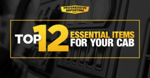 top 12 essential items for your cab