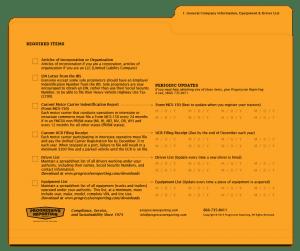audit folder