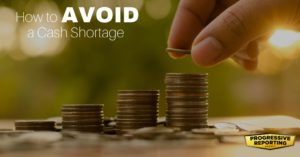 How to avoid a cash shortage