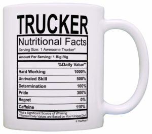 Funny trucker mug from Amazon.